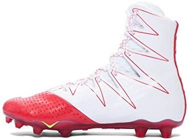 under armour red and white shoes