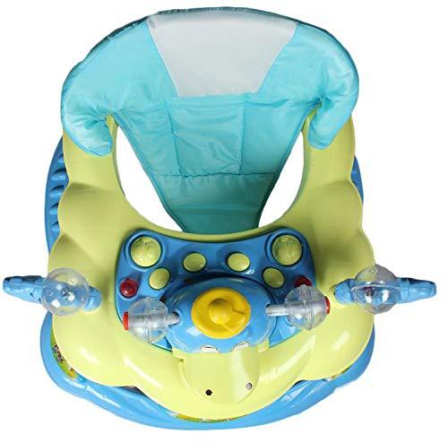 ODELEE Ducky Baby Walker for Kids (Sky Blue)
