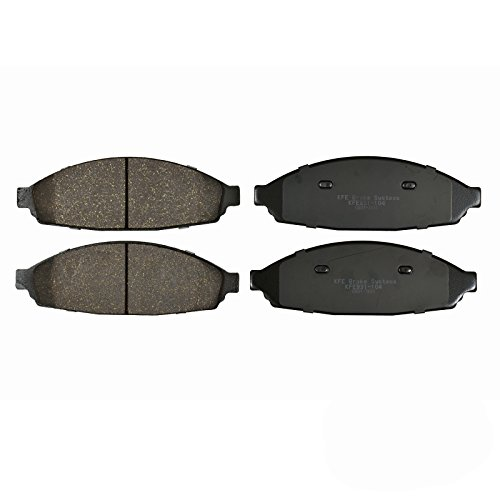 Disc Town Brake Car Lincoln (KFE Ultra Quiet Advanced KFE931-104 Premium Ceramic FRONT Brake Pad Set)