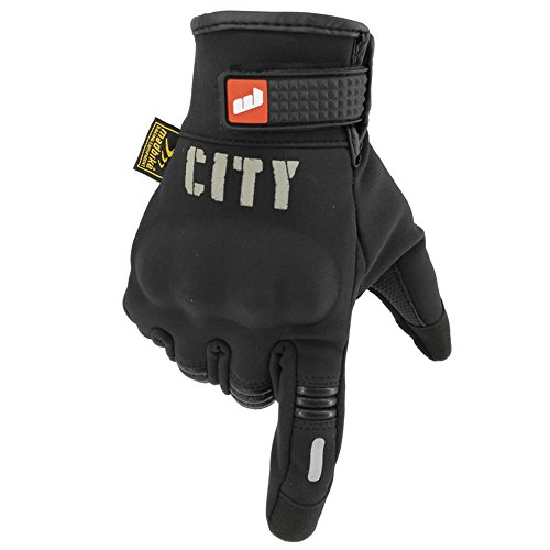 Madbike Stealth Hard Knuckle Motorcycle Gloves Touch Screen Motorbike Powersports Racing Tactical Paintball Black (L) by MADBIKE RACING EQUIPMENT (Image #3)