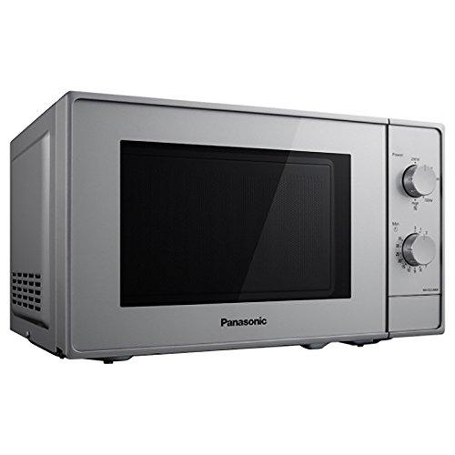 Panasonic NN-E22JMMEPG Forno a Microonde, 800 W, 20 Litri, 46 Decibel, Argento