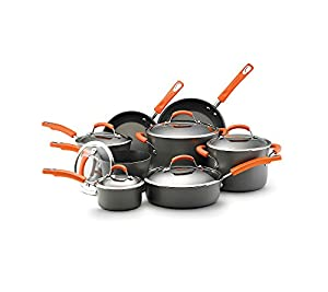 Rachael Ray Hard-Anodized Cookware Set with Bakeware