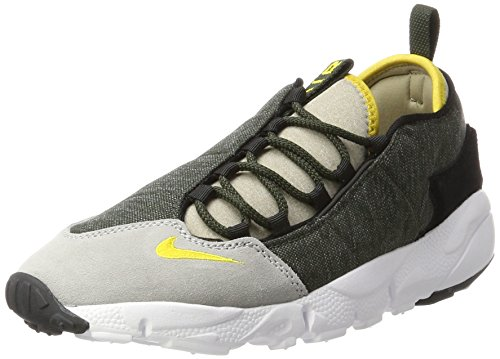 Nike Air Footscape NM, Scarpe da Ginnastica Uomo Verde (Sequoia/Mineral Gold/Khaki/Wolf Grey)