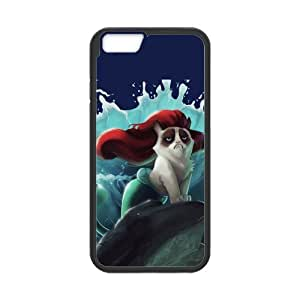 iPhone 6 Protective Case -Cute Grumpy Cat Cartoon Hardshell Cell Phone Cover Case for New iPhone 6