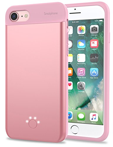 2800mah Power Case for iPhone 7 (Rose Gold) - 3