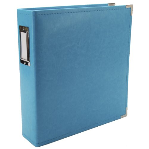 We R Memory Keepers Faux Leather 3-Ring Album - 8.5