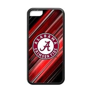 MMZ DIY PHONE CASE Custom NCAA Alabama Crimson for iphone 6 plus 5.5 inch Plastic Case