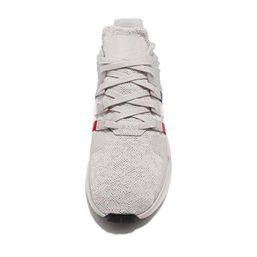 Adidas Mens Eqt Support Adv, Chalk Pearl / Cloud White / Scarlet, 11 M Us