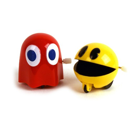 1982 Vintage Ms. Pac Man Wind Up Toy ( Ms. Pac-Man for sale  Delivered anywhere in USA