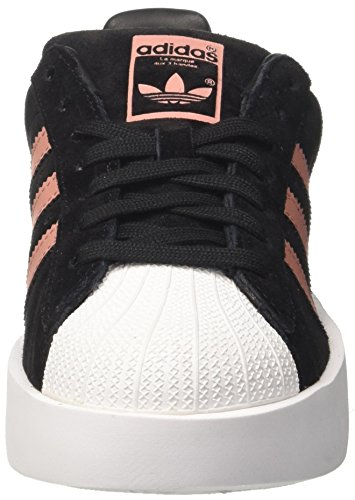 premium selection c3cf8 aa2dd adidas Damen Superstar Bold W Gymnastikschuhe Schwarz (Core Blackash Pink  S15-st ...
