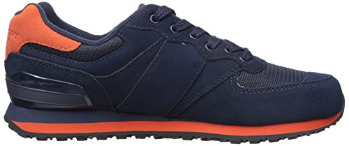 Polo Ralph Lauren Mens Slaton Pony Fashion Sneaker Newport Navy / Agrodolce