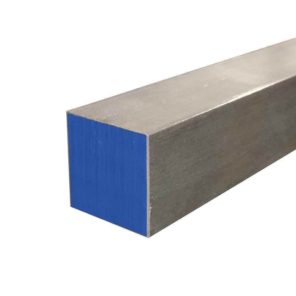 Online Metal Supply 304 Stainless Steel Square Bar, 2-1/4'' x 2-1/4'' x 12'' by Online Metal Supply