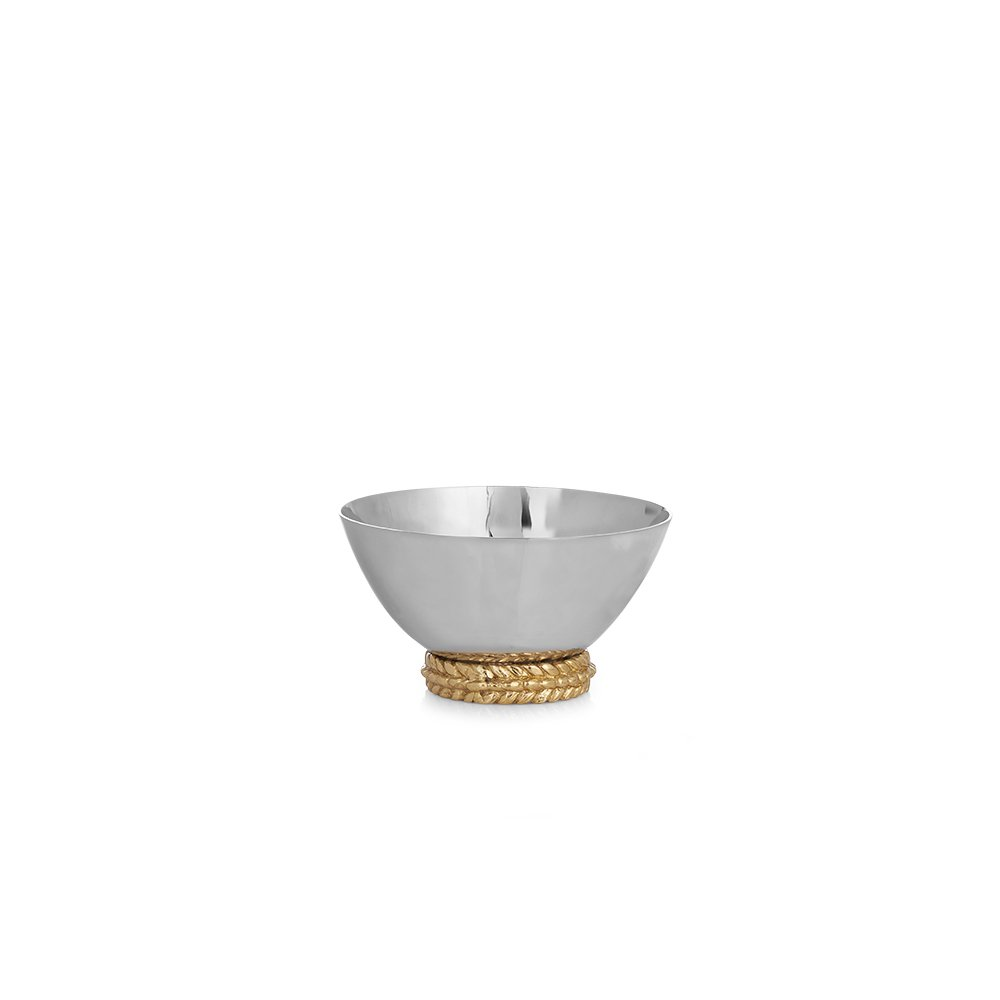 Michael Aram 174004 Wheat Nut Dish, Gold