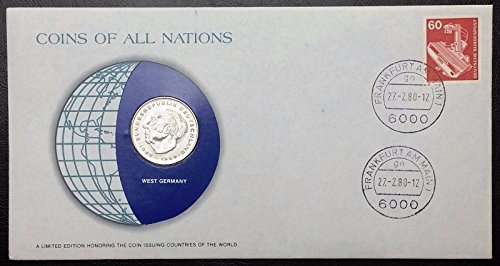 Unbranded COINS OF ALL NATIONS SERIES 1978 WEST GERMANY 2 MARK SEALED IN COA CARD BU