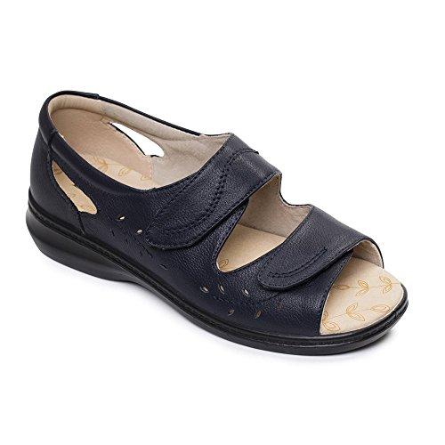Padders New Women Sandal Wave Navy a8m9uu4