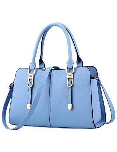 fourre sac cuir bandoulière dames nouveau brillant en bleu tout ciel à Menschwear sac 4S1qaCwC