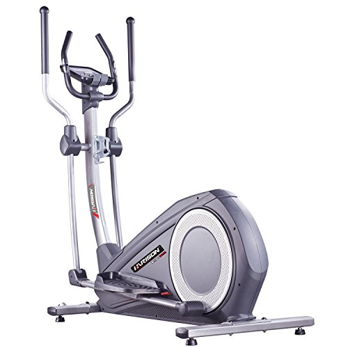 Elliptical Trainer with Handle, Elliptical Machines for Home Use, Exercise Magnetic Bike with LCD Monitor and Pulse Rate Grips Exercise Cardio Trainer Workout Home Gym, Cross Trainer HARISON E1160APP (Elliptical Handle)
