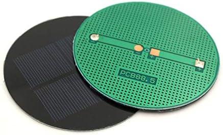 Z.L.FFLZ Mini Solar-Panel Samll Solarmodule Zellen Spielzeug Epoxy Polykristalline Silizium-DIY-Ladegerät Modul 4.5V 100mA 0,45 W