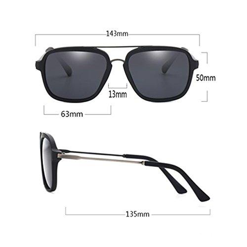 Espejo Gafas Eye de Nuevos Conducción Polarizer Driver Personalidad Drive de ZQ 2018 Hombres Sunglasses de Gafas Sol Sol rAr4q6Wv