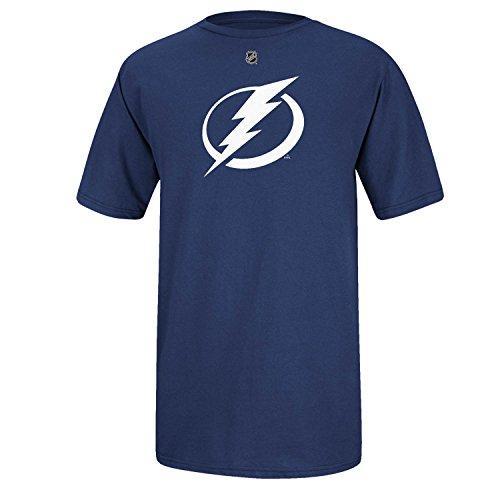 NHL Reebok Tampa Bay Lightning Primary Logo T-Shirt - Royal Blue (Medium)