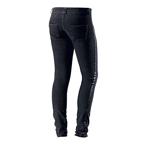 Dept Mujer Skinny Fit Jeans - Black Denim