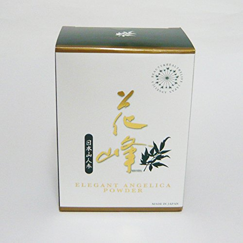 エレガントジャパン 花峰シリーズ 日本山人参 エレガントアンジェリカ パウダー 2.0g 30本   B0148AMDVQ