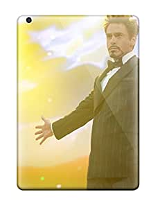 Top Quality Cases Covers For Ipad Air Cases With Nice Tony Stark Iron Man 2 Appearance