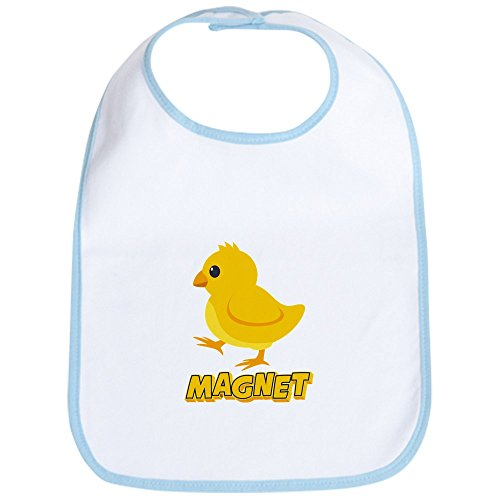 CafePress Chick Magnet Baby Bib Cute Cloth Baby Bib, Toddler Bib