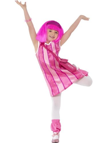 Costumes Lazytown (Lazy Town Stephanie Costume Child Toddler)