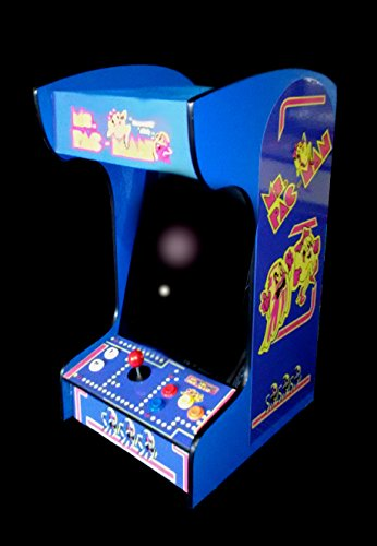 - Retro Arcade Machine with 412 Games -Tabletop/Bartop - All The Classics - Perfect for Man Caves, Bars and Game Rooms! (Blue)