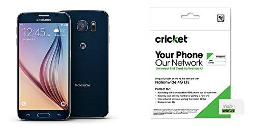 Galaxy S6 Black Sapphire 32gb For Cricket Wireless