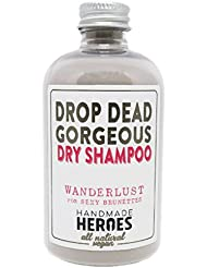 All Natural, Vegan Dry Shampoo Powder for Brunettes and Blondes (2.4oz)