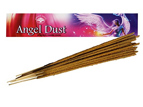 Find Something Different Green Tree Angel Dust Natural Incense -