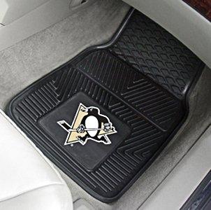 "Pittsburgh Penguins 2 - Pc Heavy Duty Vinyl Car Mat 18""x27"""