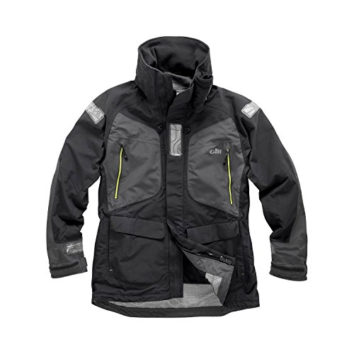 Gill OS22 Offshore Jacket (X-Small, Graphite)
