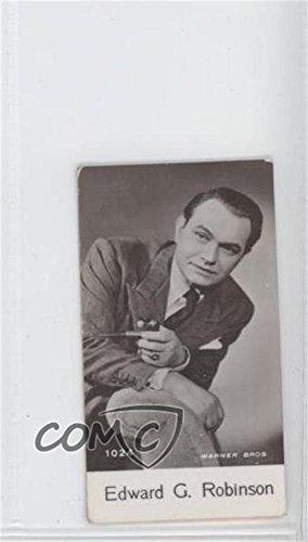 Edward G. Robinson (Trading Card) 1940 De Beukelaer Film Stars Series 10 - [Base] #1024