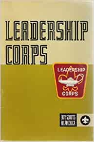 Boy scout leadership corps patch