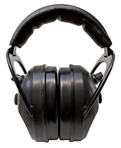 Pro Ears Gold II 26 - PEG2SMB - Electronic Hearing Protection & Amplification - Shooting Earmuff - NRR 26 - Electronic Hearing Protector Ear Muffs, Black by Pro Ears