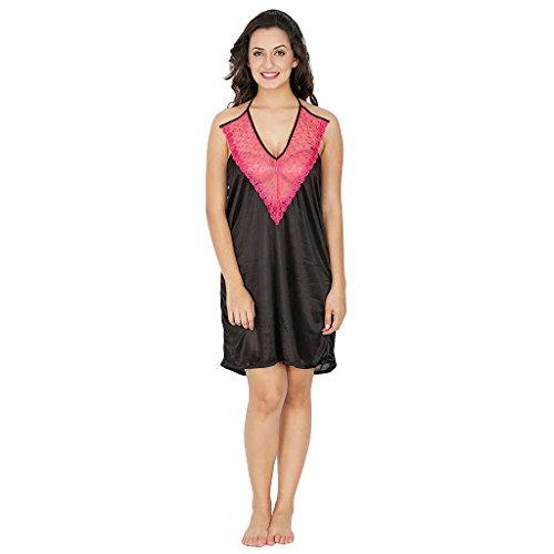 Klamotten Black Intimate Women Nightwear X155_Blk