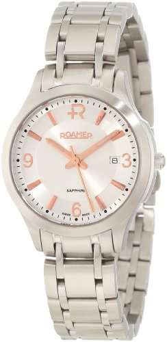 Roamer of Switzerland Women's 509978 41 14 50 Preview Silver Two-Tone Stainless Steel Date Watch