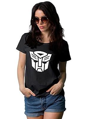 Womens transformers autobot logo t-shirt