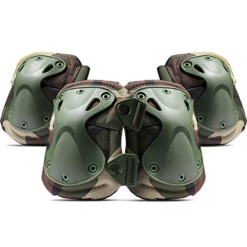 Flexzion Tactical Knee & Elbow P...