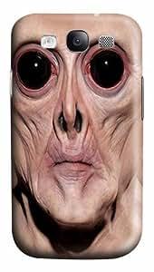 Big Face Krem Custom Samsung Galaxy I9300/Samsung Galaxy S3 Case Cover Polycarbonate 3D