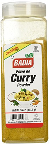 - Badia Curry Powder Jamaican Style -- 16 oz