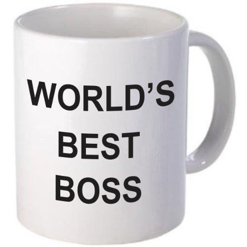 WORLD'S BEST BOSS Coffee Mug - Michaels Office Desk