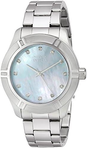 Invicta Men s 18331 Pro Diver Analog Display Japanese Quartz Silver Watch