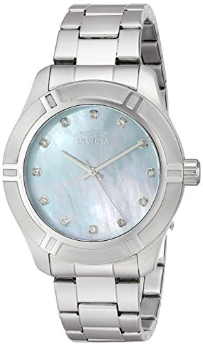 Invicta Silver Tone Bracelet - Invicta Men's 18331 Pro Diver Analog Display Japanese Quartz Silver Watch