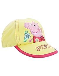 Peppa Pig Childrens Girls Floral Baseball Cap