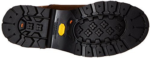 Timberland Pro Mens 8 Crosscut Waterproof Steel-Toe Work Boot Brown Distressed Leather