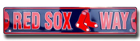 Dixie Red Sox Way Boston Red Sox Street Sign Boston Red Sox Street Sign